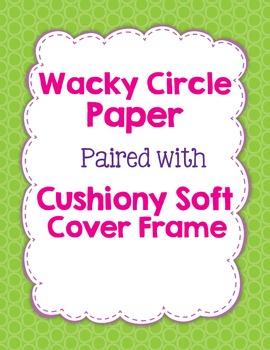 Digital Paper: Wacky Circles in 15 Bright Colors