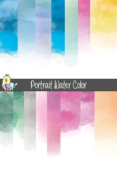 Digital Paper- Water Color