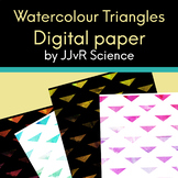 Digital Paper - Watercolour Triangles