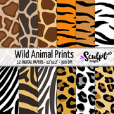 Animal Prints ~ Zebra, Tiger, Leopard, Giraffe