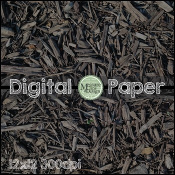 Digital Paper Wood Chip Earthy Background Texture {Messare Clips and Design}
