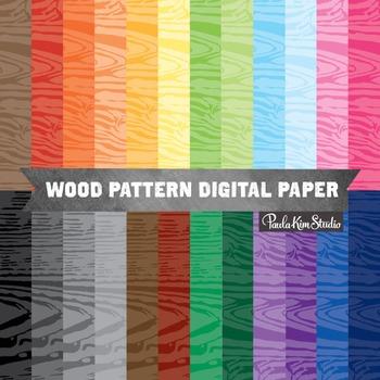 Digital Paper - Woodgrain
