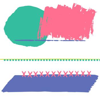 Digital Paper and Frame June Mini Set