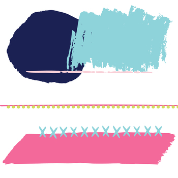 Digital Paper and Frame Lola Mini Set