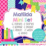 Digital Paper and Frame Matilda Mini Set