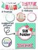 Digital Paper and Frame Mini Kit CALM