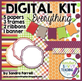 Digital Paper and Frame Mini Kit EVERYTHING