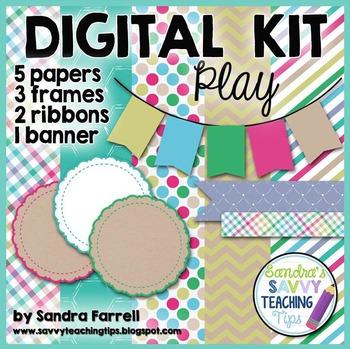 Digital Paper and Frame Mini Kit PLAY