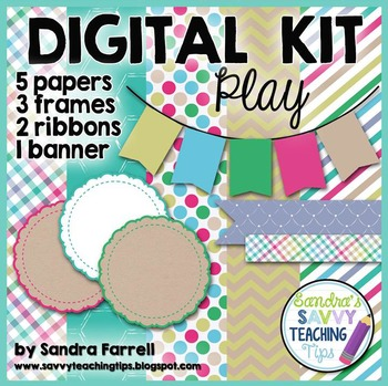 Digital Paper and Frame Mini Kit PLAY