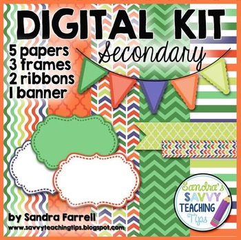 Digital Paper and Frame Mini Kit SECONDARY