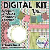 Digital Paper and Frame Mini Kit YOU