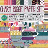 Digital Paper and Frame Set-Charm Biggie