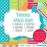 Digital Paper and Frame Tessa Mini Set