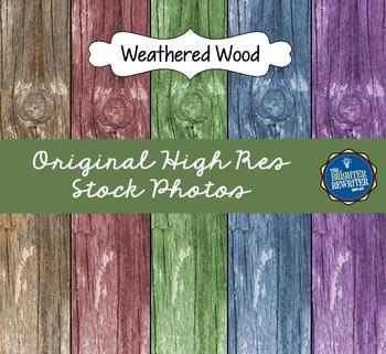 Stock Photos: Weathered Wood
