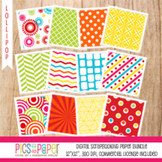 Digital Paper/background Lollipop
