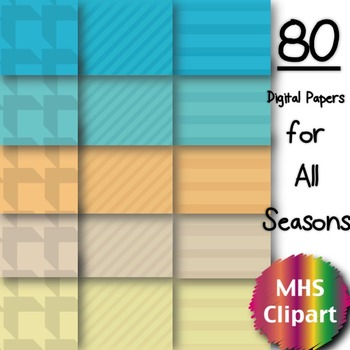 Digital Papers- All the Seasons