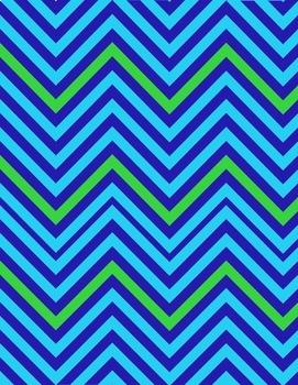 Digital Papers - Set Blue & Green (School Designhcf)