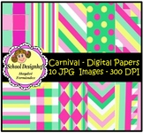 Digital Papers - Set Carnival (School Designhcf)