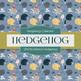 Digital Papers - Abstract Hedgehog (DP6705)