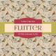 Digital Papers - Adorable Flutter (DP7000)