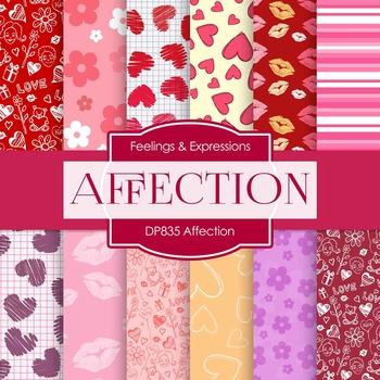 Digital Papers - Affection (DP835)