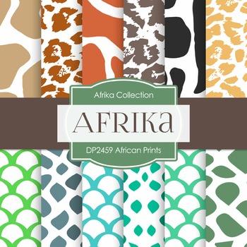 Digital Papers -  African Prints (DP2459)