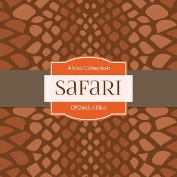 Digital Papers -  Afrika (DP2465)