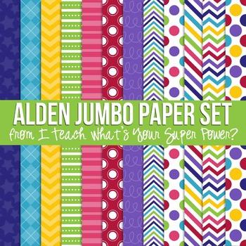 Digital Papers Alden Jumbo Paper Set