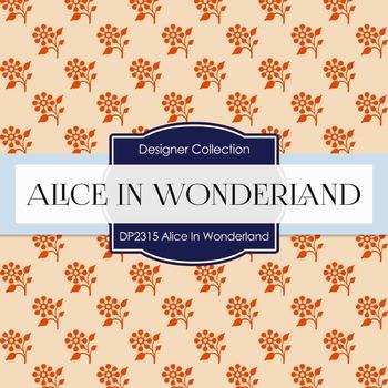 Digital Papers -  Alice In Wonderland (DP2315)
