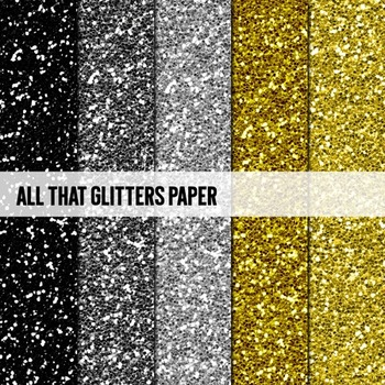 Digital Papers ~All That Glitters~ Glitter Paper {Ink n Little Things}