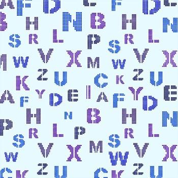 Digital Papers -  Alphabet (DP1498)