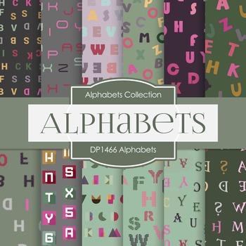Digital Papers -  Alphabets (DP1466)