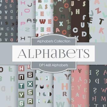 Digital Papers -  Alphabets (DP1468)