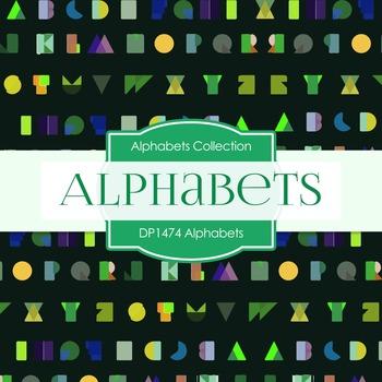 Digital Papers - Alphabets (DP1474)