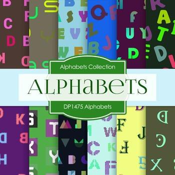 Digital Papers -  Alphabets (DP1475)
