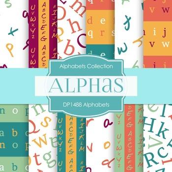 Digital Papers - Alphabets (DP1488)