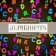 Digital Papers - Alphabets (DP1498)