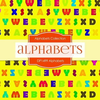 Digital Papers - Alphabets (DP1499)