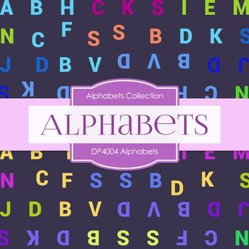 Digital Papers - Alphabets (DP4004)
