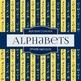Digital Papers - Alphabets (DP4428)