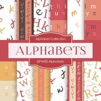 Digital Papers - Alphabets (DP4430)
