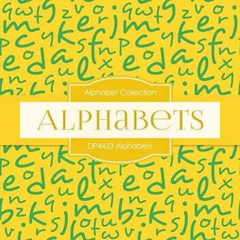 Digital Papers - Alphabets (DP4433)