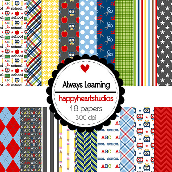 Digital Papers Always Learning, ABC, School