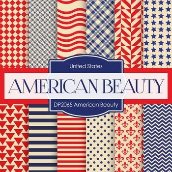 Digital Papers - American Beauty (DP2065)