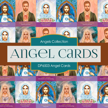 Digital Papers - Angel Cards (DP6503)