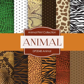 Digital Papers - Animal (DP2048)