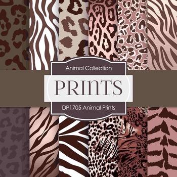 Digital Papers - Animal Prints (DP1705)