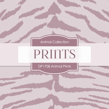 Digital Papers -  Animal Prints (DP1708)