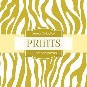 Digital Papers -  Animal Prints (DP1709)