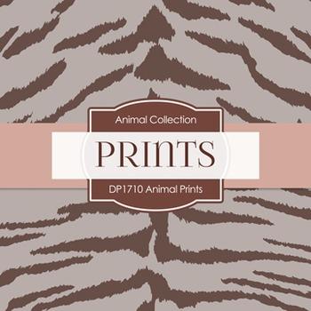 Digital Papers -  Animal Prints (DP1710)